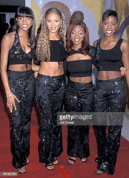 Destiny's Child LeToya Luckett Beyonce Knowles LaTavia Robertson and Kelly Rowland