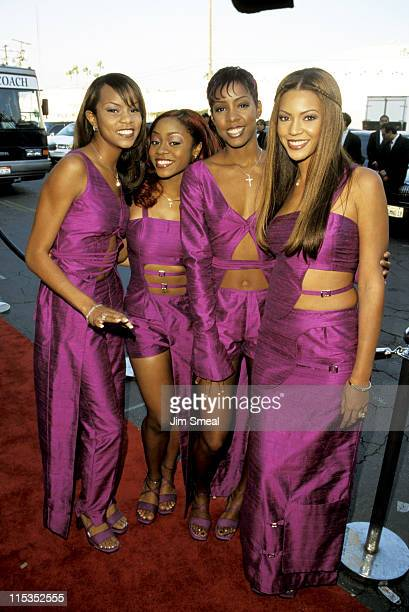 Destiny's Child LeToya Luckett LaTavia Robertson Kelly Rowland and Beyonce Knowles