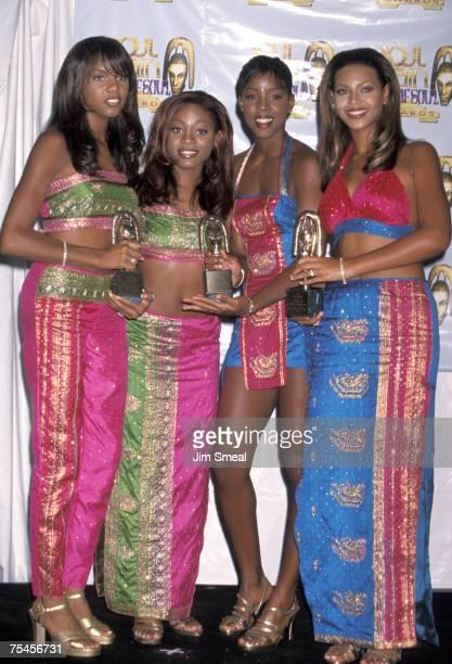 Destiny's Child LeToya Luckett LaTavia Robertson Kelly Rowland and Beyonce Knowles