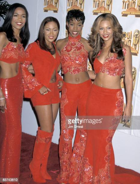 Destiny's Child Michelle Williams Farrah Franklin Kelly Rowland and Beyonce Knowles