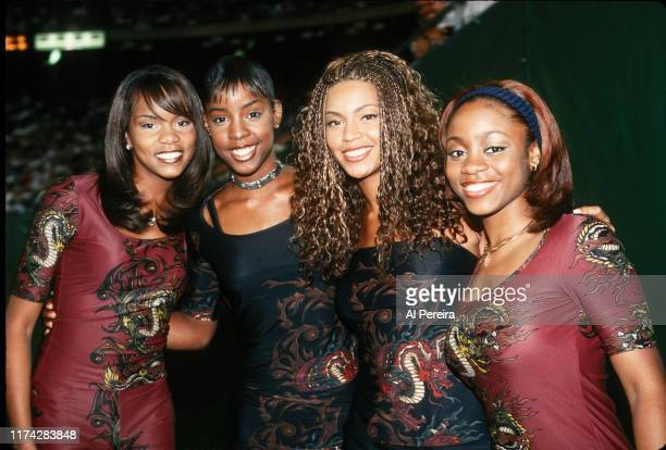 Destiny's Child performs at halftime of the New York Giants v New York Jets game on August 20 at Giants Stadium in East Rutherford, New Jersey. .