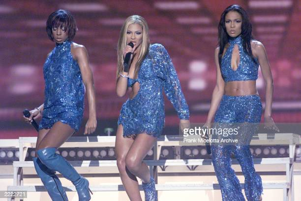 Destiny's Child performs at The 43rd Annual Grammy Awards Staples Center Los Angeles The Grammys will be broadcast live from Staples Wednesday Feb 21...