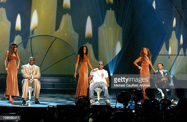 Destiny's Child performs Cater 2 U during 2005 BET Awards Show at Kodak Theatre in Hollywood California United States