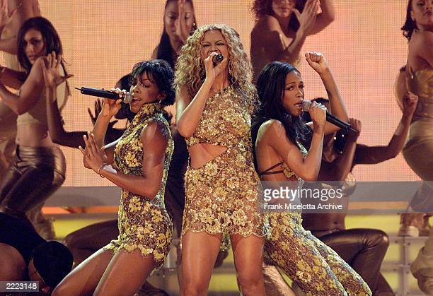 Destiny's Child performs live at the 2000 Billboard Music Awards at the MGM Grand Hotel and Casino Las Vegas NV Tuesday Dec5 2000
