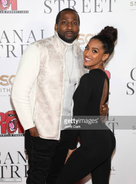 DeStorm Power and Alicia JaNina Gordillo attend Smith Global Media's World Premiere of Canal Street at ArcLight Hollywood on January 17 2019 in...