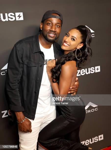 DeStorm Power and Janina Gordillo attend the ZEUS New Series Premiere Party X CIROC Black Raspberry on October 19 2018 in Burbank California