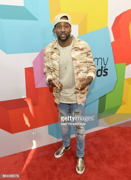 DeStorm Power at the 2017 Streamy Awards at The Beverly Hilton Hotel on September 26 2017 in Beverly Hills California