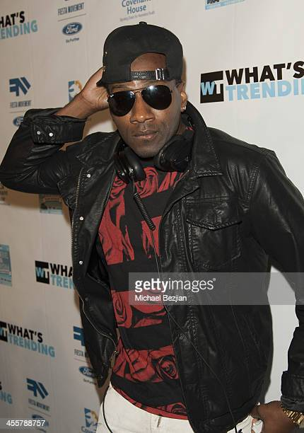 Destorm Power attends the 2nd Annual TubeAThon benefiting Covenant House presented by What's Trending at YouTube Space LA on December 12 2013 in Los...