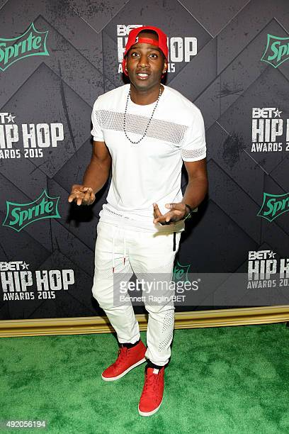 DeStorm Power attends the BET Hip Hop Awards 2015 presented by Sprite at Atlanta Civic Center on October 9 2015 in Atlanta Georgia