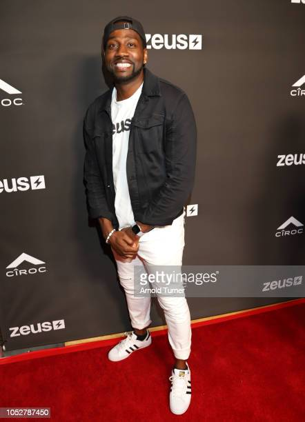 DeStorm Power President of Zeus Network attends the ZEUS New Series Premiere Party X CIROC Black Raspberry on October 19 2018 in Burbank California