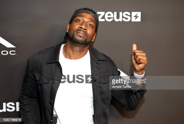 DeStorm Power President of Zeus Network attends the ZEUS New Series Premiere Party X CIROC Black Raspberry on October 19 2018 in Burbank California