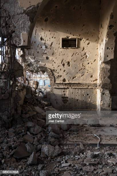 Destroyed Armenian church in Mosul, Iraq