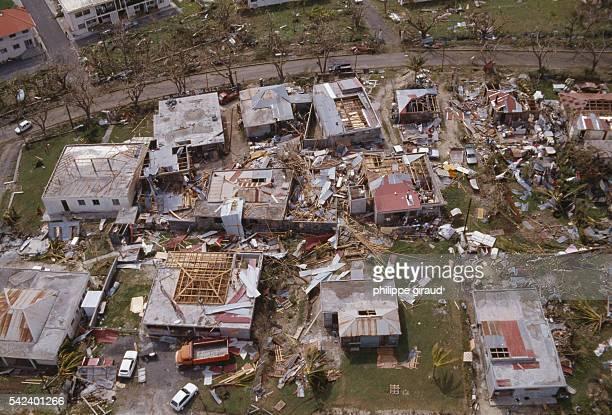 Destroyed Buildings After Hurricane Hugo