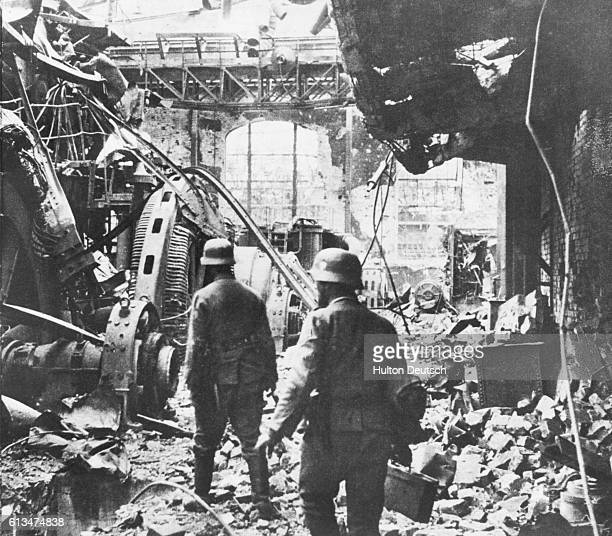Destroyed Factory in Stalingrad