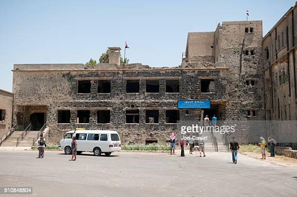 Zerstörter Krankenhaus in Qunaitra, Syrien