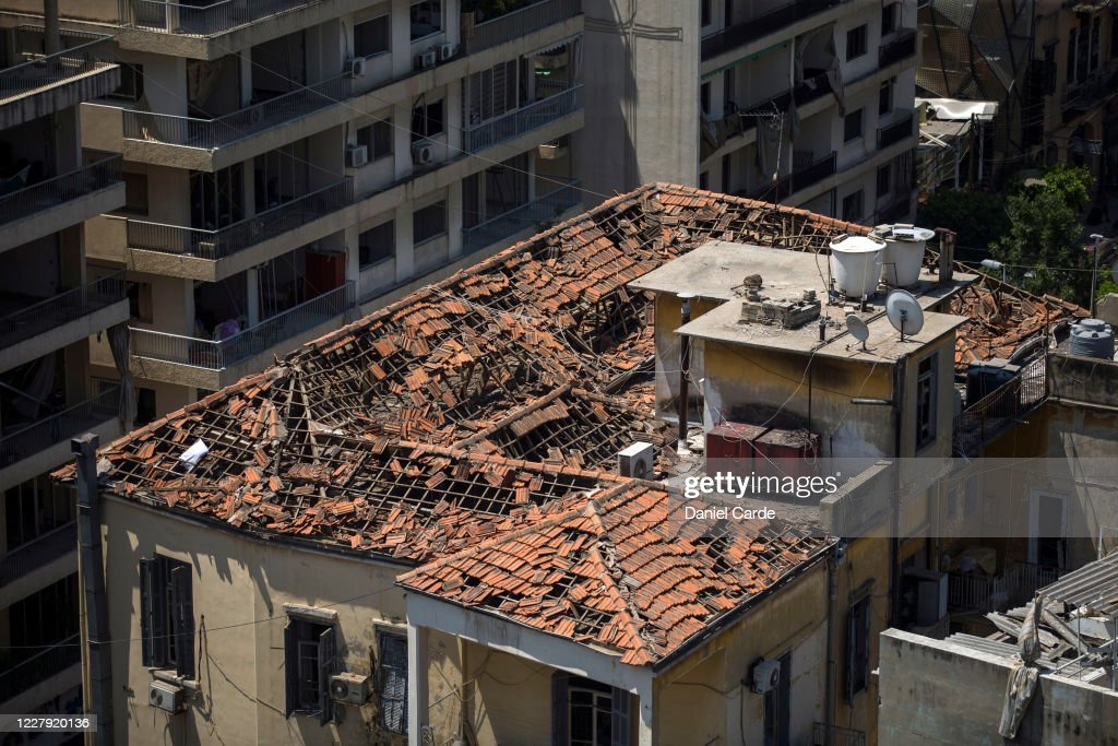 Beirut Treats Wounded And Seeks Answers After Deadly Blast : Nieuwsfoto's
