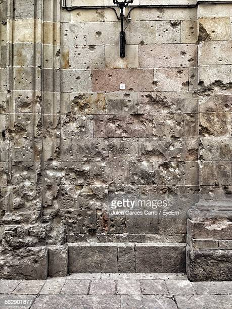 Destroyed Wall From Bombing