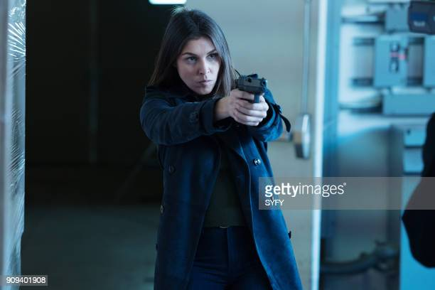 HAPPY 'Destroyer of Worlds' Episode 107 Pictured Lili Mirojnick as Detective Meredith McCarthy