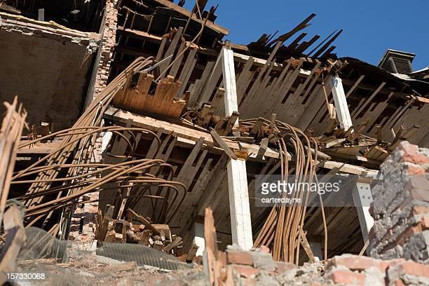 Zerstörung und Folgen der Todeslager Erdbeben oder Naturkatastrophe
