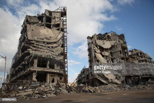 Destruction in Jouret alShayah a former opposition area in Homs The city of Homs which is located in the center of Syria was once a anti Assad...