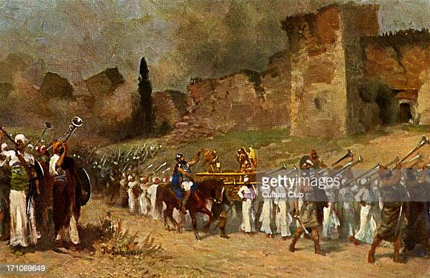 Destruction of the walls of Jericho The Biblical account of the destruction of Jericho found in the Book of Joshua Old Testament dated to around 13th...