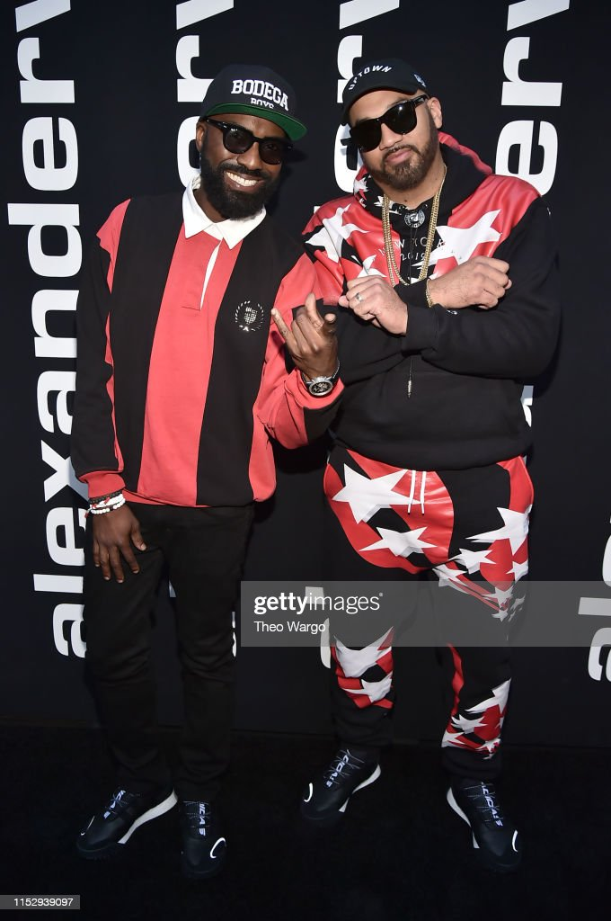 Desus Nice and The Kid Mero attend the Alexander Wang Collection 1
