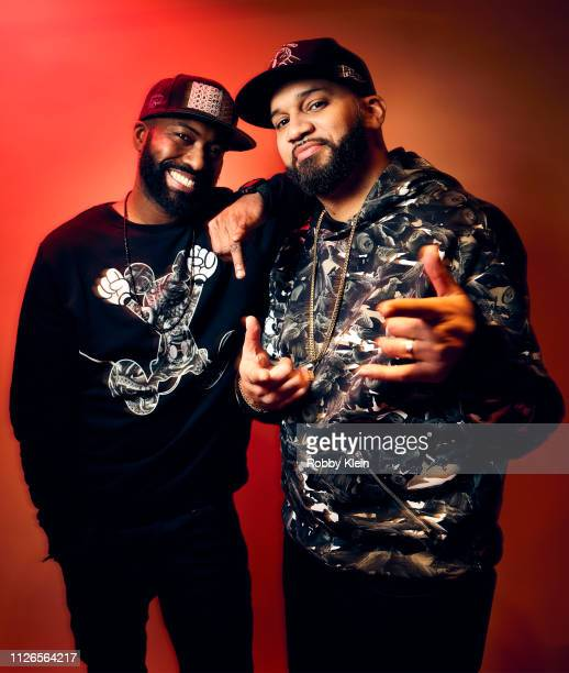 Desus Nice and The Kid Mero of Showtime's 'Desus Mero' pose for a portrait during the 2019 Winter TCA at The Langham Huntington Pasadena on January...