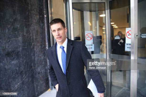 TORONTO ON Det Dave Dickenson leaving the sentencing for serial killer Bruce McArthur at 361 University Ave