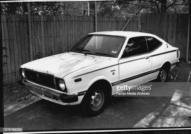 Det. Serg. Wayne Gilbert Announcing a Break through in Evidence into the murder of Toula Soravia.The Impounder Getaway Vehicle.The ***** by the...