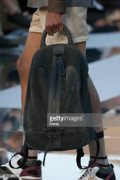detail at the Ermenegildo Zegna show during Milan Men's Fashion Week Spring/Summer 2019 on June 15 2018 in Milan Italy