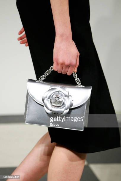 A detail at the Oscar de la Renta show during the New York Fashion Week February 2017 collections on February 13 2017 in New York City