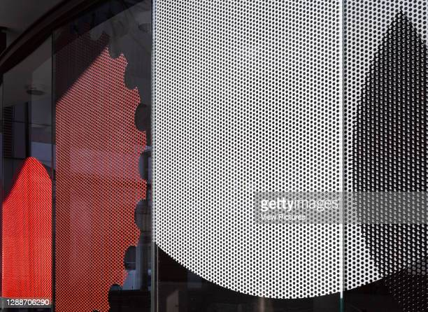 Detail. Congress House, London, United Kingdom. Architect: Hugh Broughton Architects, 2018.