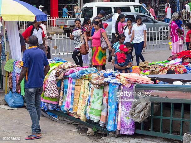 Detail from street market in Kandy,  Sri Lanka