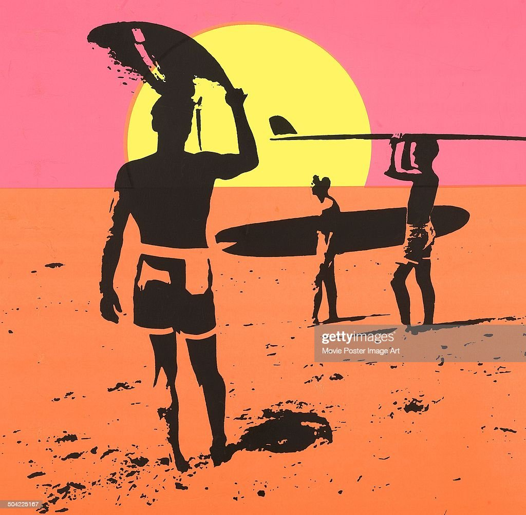 A Detail From The Poster For Movie Endless Summer Made By