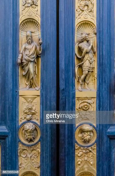 "Detail - ""Gates of Paradise"" at St. John Baptistery"