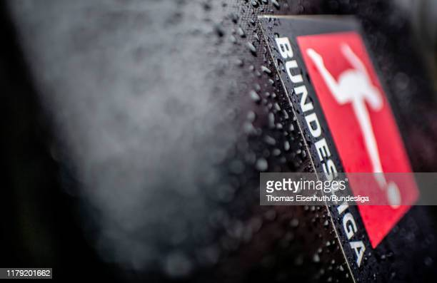 Detail is pictured prior the Bundesliga match between FC Bayern Muenchen and TSG 1899 Hoffenheim at Allianz Arena on October 05, 2019 in Munich,...