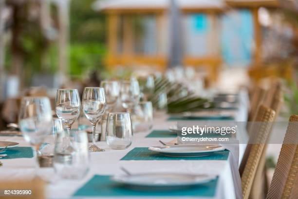 detail lunch in saint martin - guadeloupe photos et images de collection