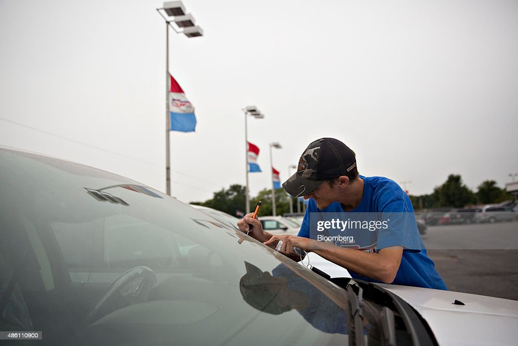 Key Auto Mall >> A Car Dealership Ahead Of Motor Vehicle Sales Figures Photos And
