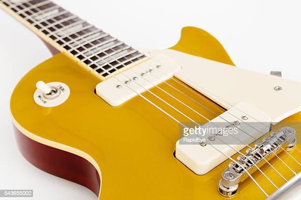 Detail of '56 Les Paul Pro electric guitar