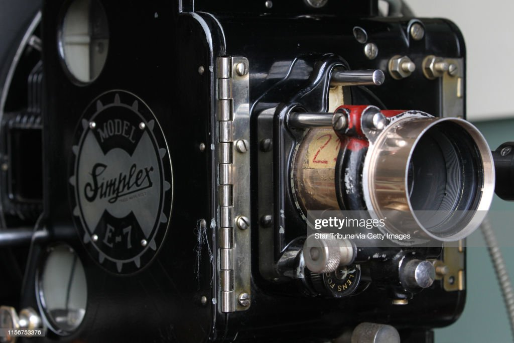 Detail of a 1936 Simplex E7 film projector with a Western Electric