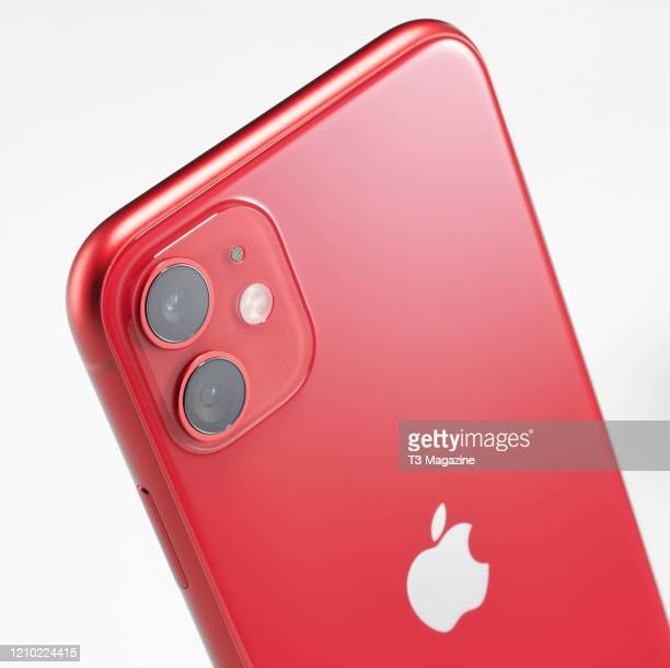 Detail of a 2019 Apple iPhone 11 smartphone taken on October 1 2019