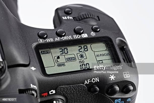 Detail of a Canon EOS 7D DSLR camera taken on May 15 2013