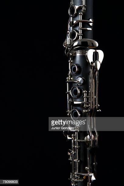 detail of a clarinet - clarinete fotografías e imágenes de stock
