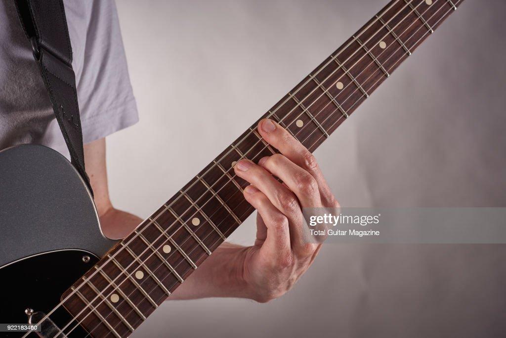Rhythm Guitar Technique Shoot Pictures Getty Images