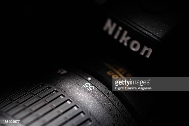 Detail of a Nikon D5100 digital SLR, taken on April 21, 2011.