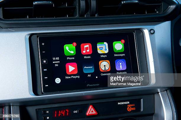 Apple Carplay Pictures And Photos Getty Images