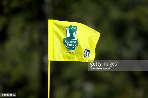 A detail of a Sanderson Farms Championship on the sixth hole during the First Round of the Sanderson Farms Championship at the Country Club of...