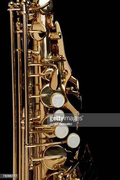 Detail of a saxophone