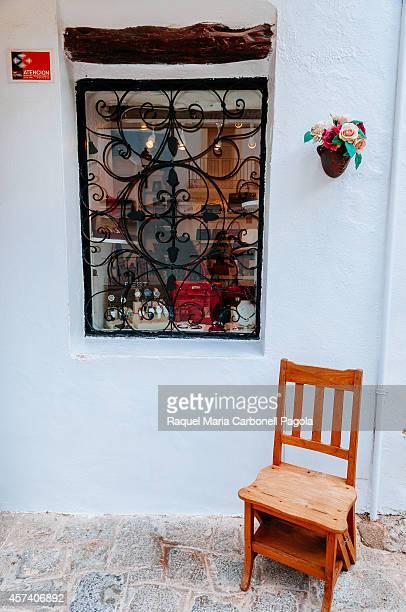 Detail of a shop in Dalt Vila neighborhood