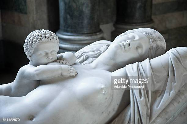 detail of a statue in the royal palace, stockholm, sweden - the stockholm palace stock pictures, royalty-free photos & images